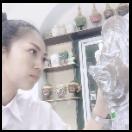 หน้ากากรามเกียรติ์+สมุนไพรไทยหอม(อบแห้ง)