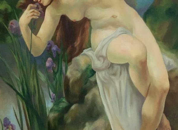 รับวาดภาพ Oil on canvas 100×120
