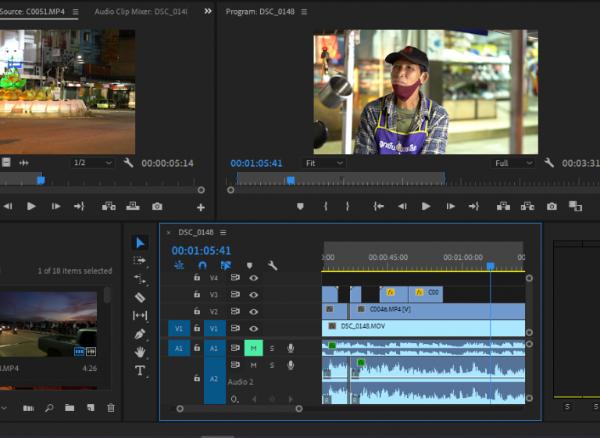 งานตัดต่อวิดีโอ