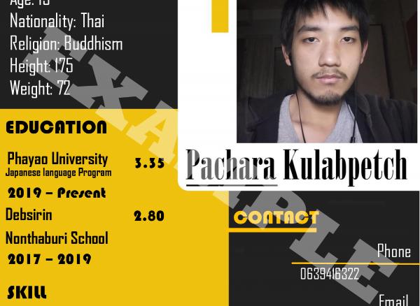 รับออกแบบ Powerpoint  Infographic Resume...