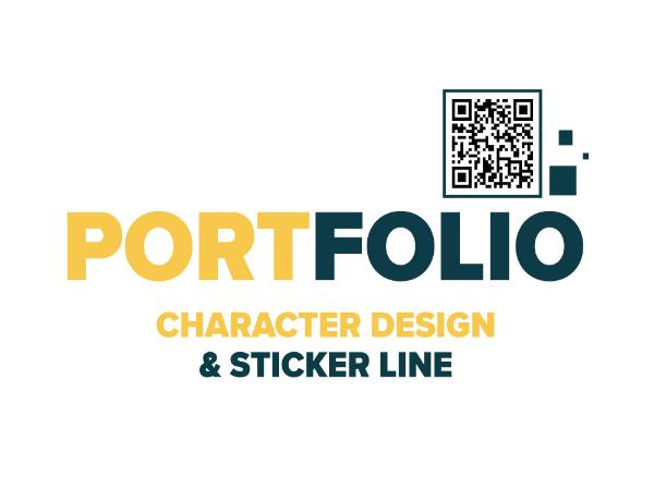 รับออกเเบบ Sticker Line เเละ Character Design