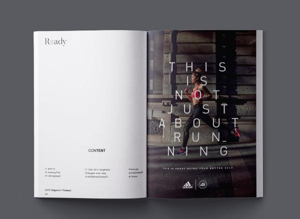 รับออกแบบ Magazine l Book l Layout l Minimalist...