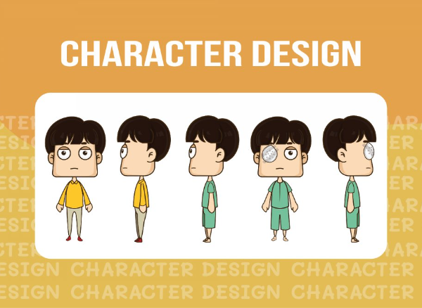 รับออกแบบ character/มาสคอตสไตล์การ์ตูน...