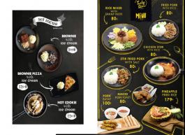 food stylist รับถ่ายภาพ ออกแบบเมนูอาหาร